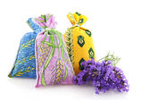 Bags with Lavender from the Provence — Stock Photo