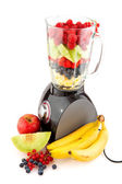 Making smoothies — Stock Photo