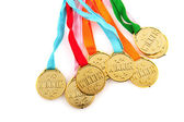 Medals for the winner — Stock Photo