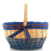 Cheerful basket — Stock Photo