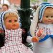 Dutch costumed dolls — Stock Photo
