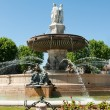 Aix-en-Provence fountain — Stock Photo