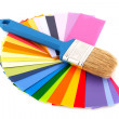 Painting in colors — Stock Photo