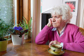 Old woman — Stock Photo