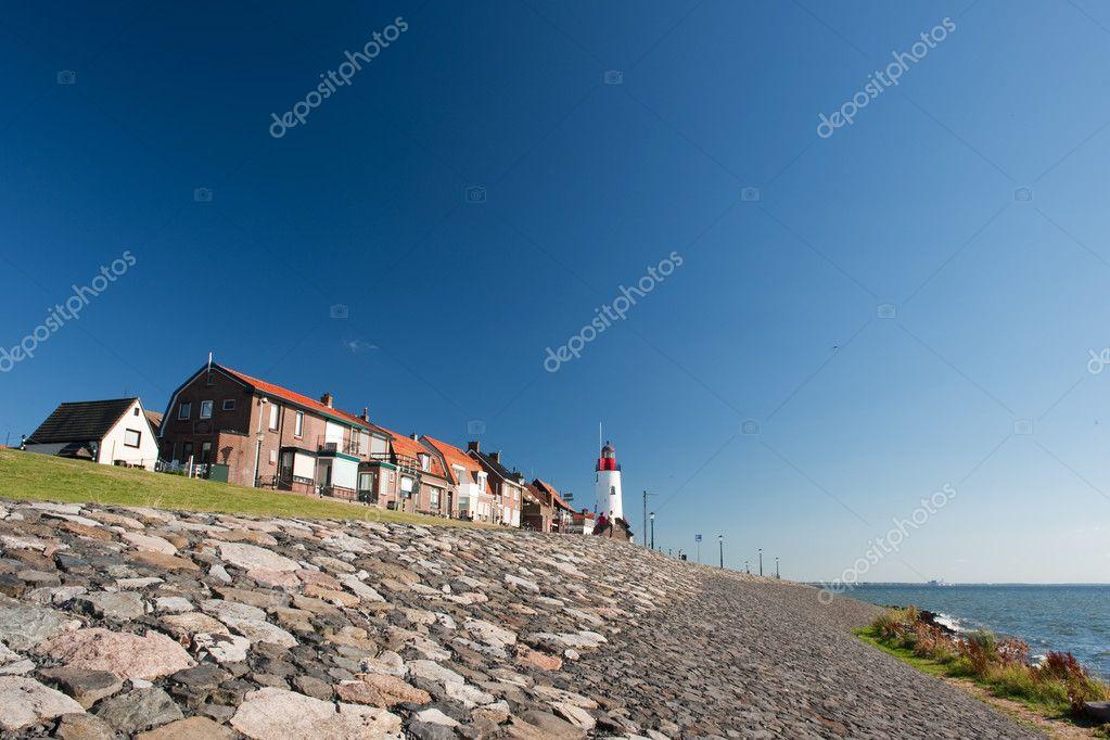 荷兰灯塔风景图片