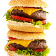 Stock Photo: Hamburgers