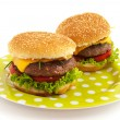Hamburgers — Stock Photo #3697317