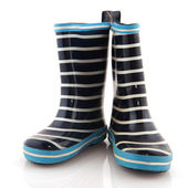 Rubber child boots — Stock Photo