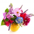 Garden flower bouquet — Stock Photo