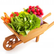 Royalty-Free Stock Photo: Crate vegetables