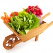 Crate vegetables - Stock Photo