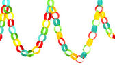 Paper chain for celebration — Stock Photo