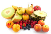 Assortment fresh fruit — Stock Photo