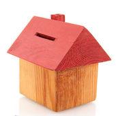 копилка дом — Стоковое фото