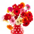 Cheerful flower bouquet — Stock Photo