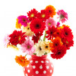 Cheerful flower bouquet - Stock Photo