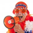 Dutch soccer supporter — Stock Photo #3823695