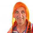 Dutch supporter — Stock Photo