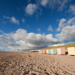 Royalty-Free Stock Photo: Colorful beach huts