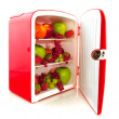 Healthy fridge for diet — Stock Photo
