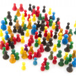 Abstract crowd — Stock Photo #3892040