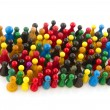 Abstract crowd — Stock Photo #3892056