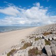 Dutch sea dike - Foto de Stock  