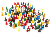 Abstract crowd — Stock Photo