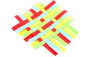 Trabalho de trança de papel — Fotografia Stock