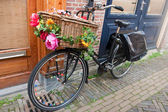 Dutch transport bike — Foto de Stock