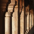 Stock Photo: Old colonnade