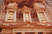 Part of Petra temple — Stock Photo