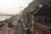 Ráno v Budapešti — Stock fotografie
