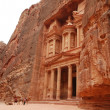 Temple in Petra - Stock Photo