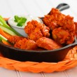 Buffalo Chicken Wings — Stock Photo #3578717