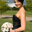 Attractive Bridesmaid - Stock Photo