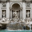 The Trevi Fountain - Rome - 图库照片