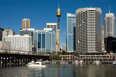 Darling harbour scène — Stockfoto