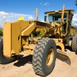 Stock Photo: Road Grader