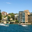 Harbourside Living — Stock Photo