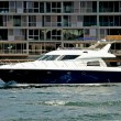 Luxury Harbour Cruiser — ストック写真
