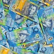 Australian Ten Dollar Notes — Stock Photo