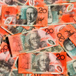 Stock Photo: AustraliTwenty Dollar Notes