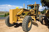 A Road Grader — Stock Photo