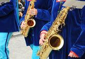 Musicians — Stock Photo