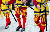 Procession of the Holy Blood, Bruges — Stock Photo