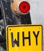Why — Stock Photo