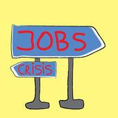 Posti di lavoro — Vettoriale Stock