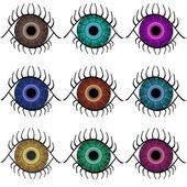 Selection of Eyes — Stock Photo