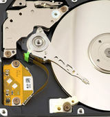 The hard disk — Stock Photo